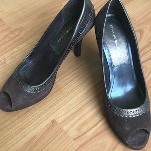Bandolino, open toe high heels. Size 7